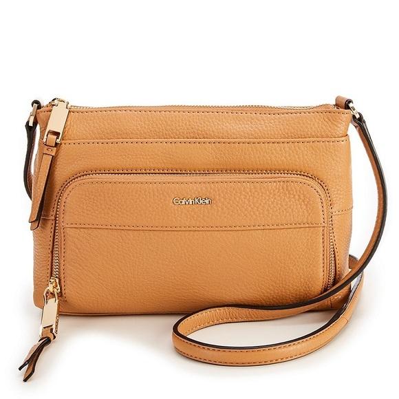 621b1a53c42c Calvin Klein Handbags - Calvin Klein Lily Pebble Crossbody
